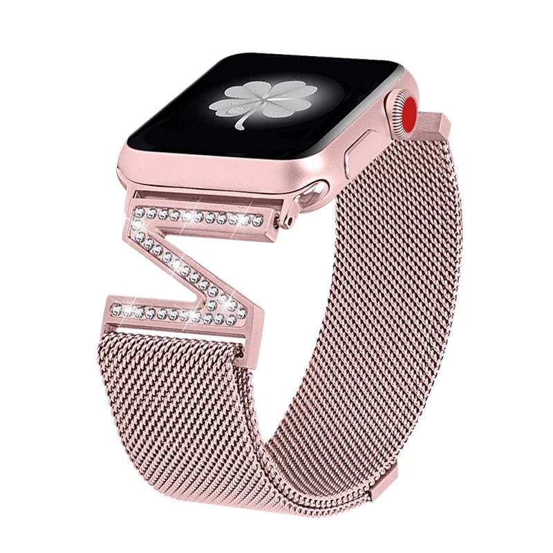 Magnetic Milanese Loop Strap For Apple Watch
