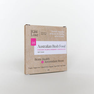 Australian Bush Food<br>Raw Chocolate 40g