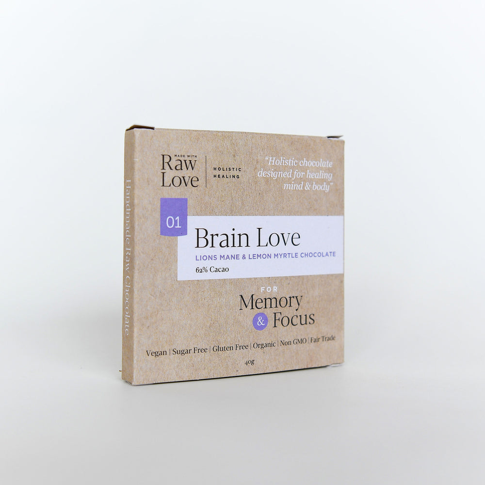 Brain Love Raw Chocolate 40g
