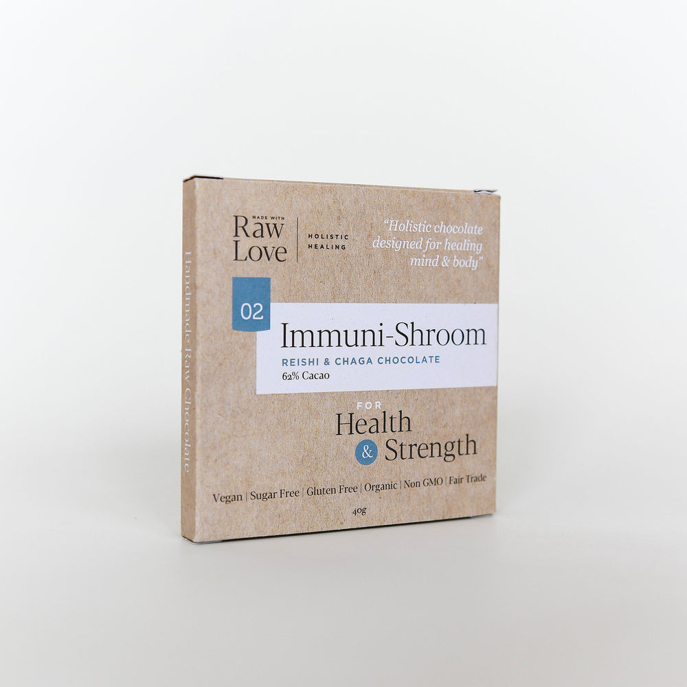 Immuni Shroom Raw Chocolate 40g