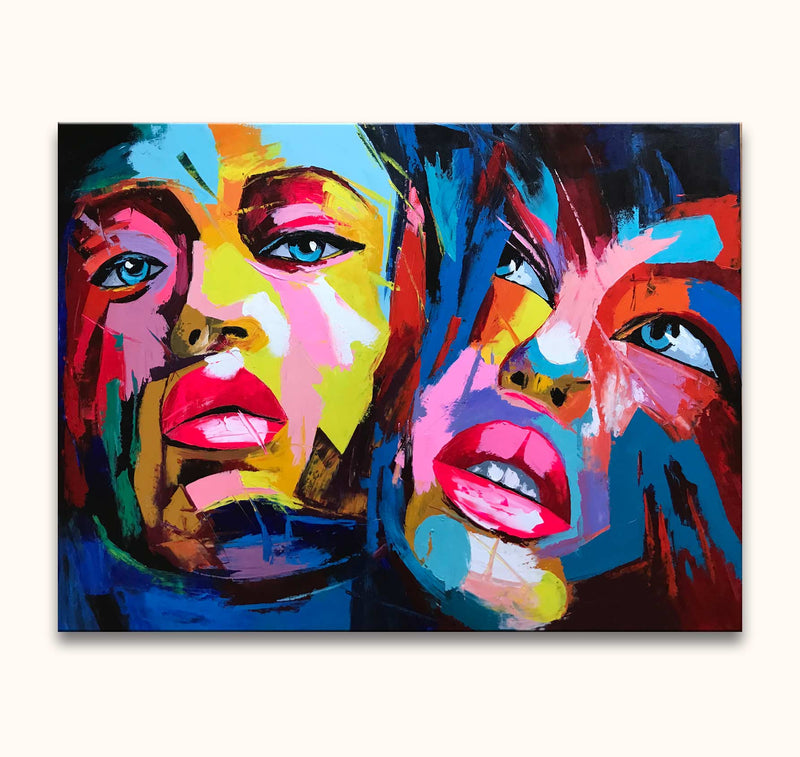 Françoise Nielly - Colourful Twins