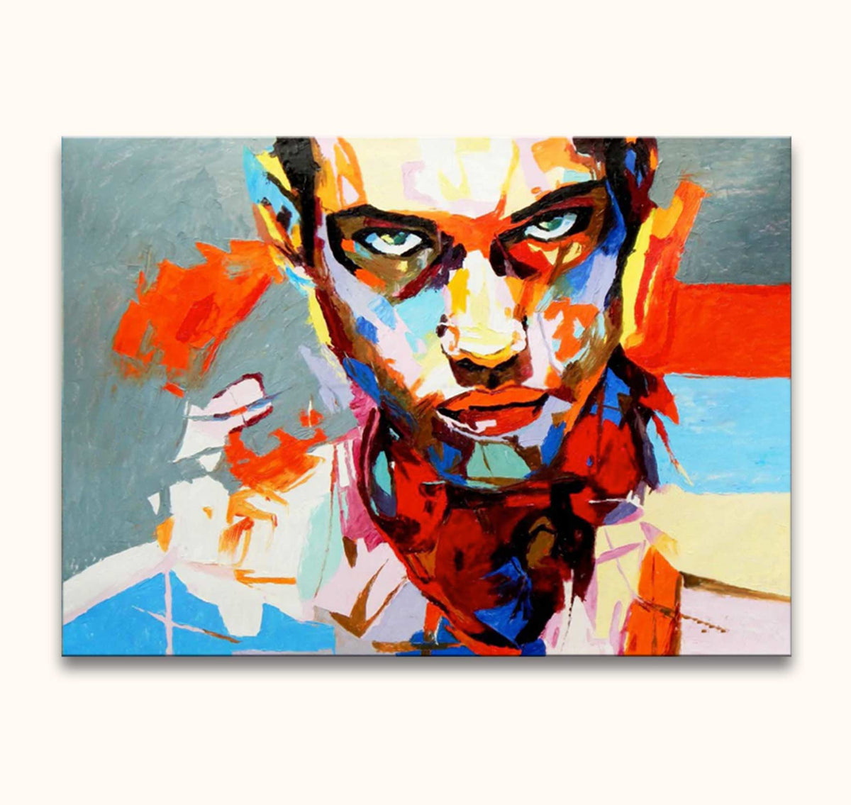 Françoise Nielly - Colourful Guy