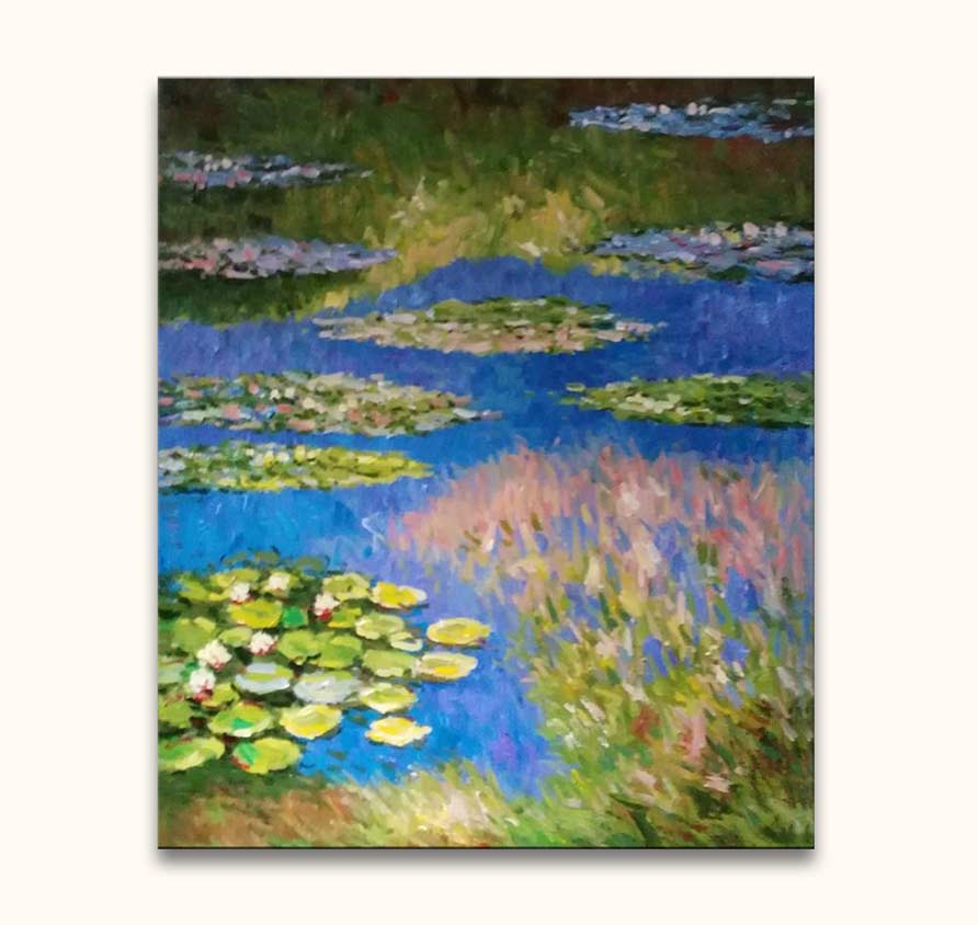 Claude Monet – Waterlelies bij Toscane