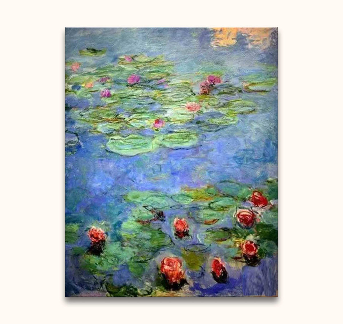 Claude Monet – Lotusbloemen in Park Monceau