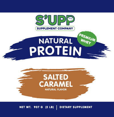 S'UPP: The Smoothie Shop's Original Salted Caramel Protein