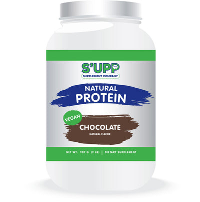 S'UPP Chocolate Vegan Protein - The Smoothie Shop & Supplements