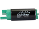 AEM 340LPH E85-Compatible High Flow In-Tank Fuel Pumps (Offset Inlet)