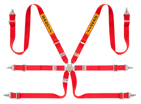 "Sabelt CCS-622 Full 2"" 6 Point Harness"