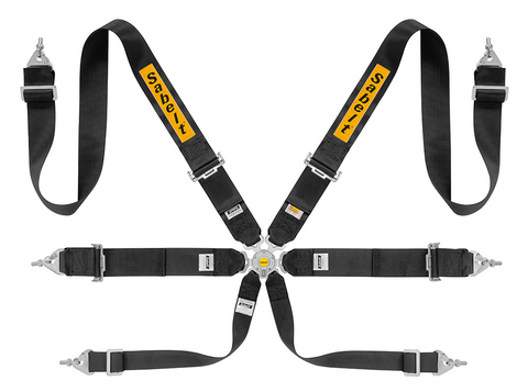 "Sabelt CCS-633 Saloon Full 3"" 6 Point Harness"