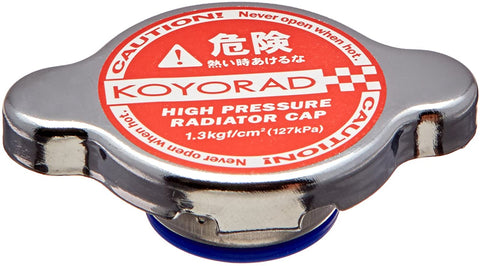 Koyo Type A Radiator Cap (Red / 1.3 Bar)