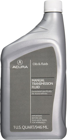 Acura Manual Transmission Fluid