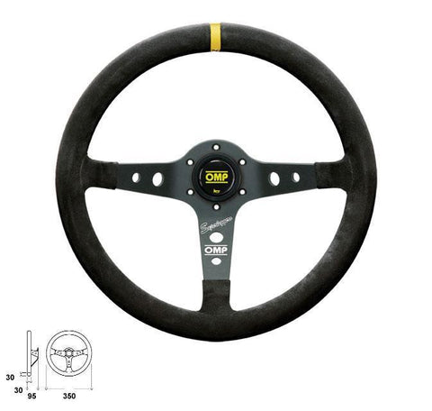 OMP Racing Corsica Superleggero Steering Wheel
