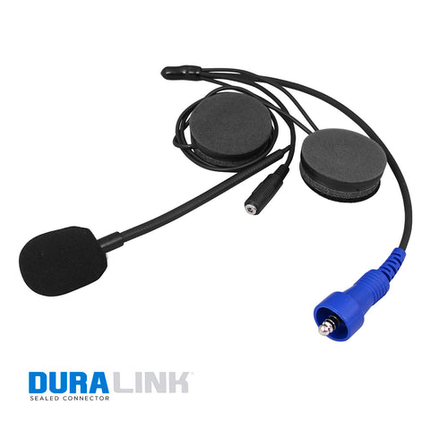 Rugged Radios Alpha Audio Helmet Kit w/ 3.5mm Ear Bud Jack