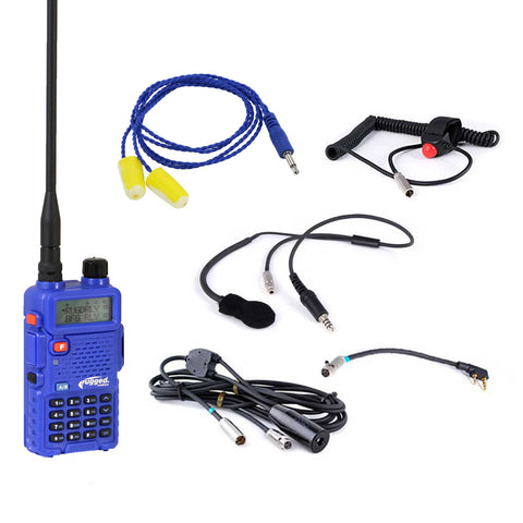 Rugged Radios IMSA Single Seat Kit with RH5R Handheld Radio