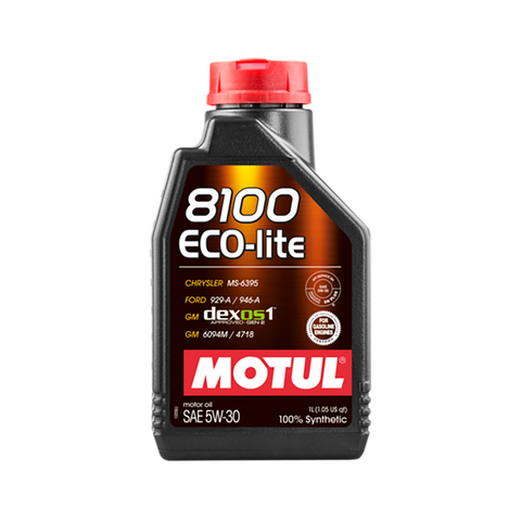 Motul 8100 ECO-Lite 5W30 Engine Oil