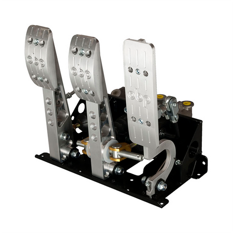 OBP Pro-Race V2 Floor Mount Pedal Box with Master Cylinder