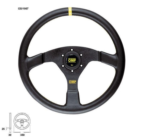 OMP Racing Velocita Steering Wheel