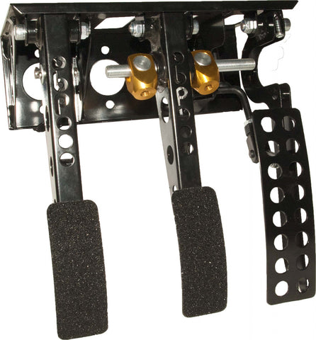 obp Motorsport Victory Top Mounted Bulkhead Fit 3 Pedal System