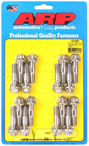ARP M10 x 1.25/1.50 x 48 Stainless Steel 12pt Broached Stud Kit (16/pkg)