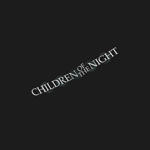 Children of the Night Decal
