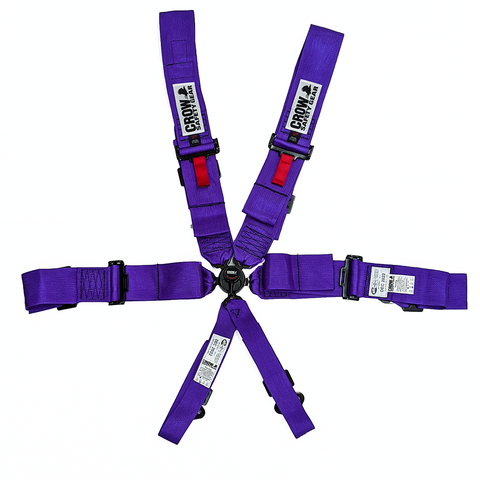 Crow Kam Lock Standard 6 Point Clip In Harness