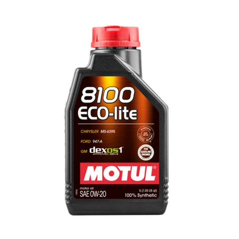 Motul 8100 ECO-Lite 0W20 Engine Oil