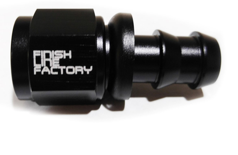 Finish Line Factory Straight Push Lock Hose End