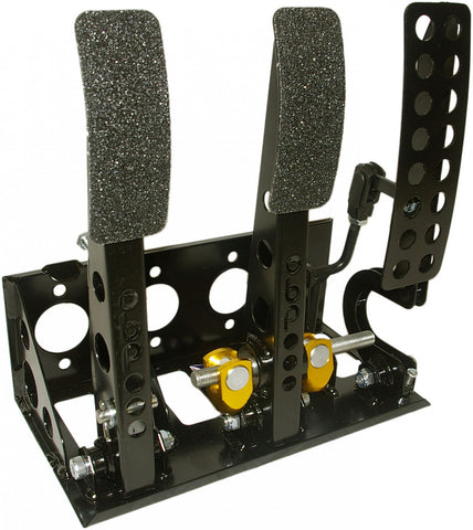 obp Motorsport Victory Floor Mounted Bulkhead Fit 3 Pedal System