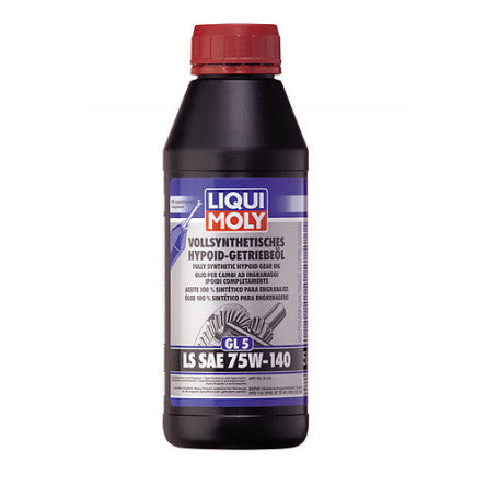 Liqui Moly 1L Fully Synthetic Hypoid Gear Oil (GL5) LS SAE 75W-140