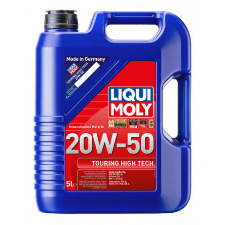 Liqui Moly 5L Touring High Tech Motor Oil 20W-50