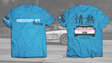 Passion NSX T-shirt in Blue