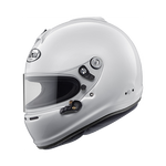 White Arai GP-6S Racing Helmet