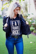 Load image into Gallery viewer, Eat Travel Rock Tee