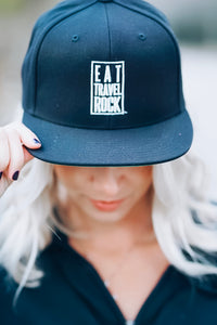 Eat Travel Rock Snapback
