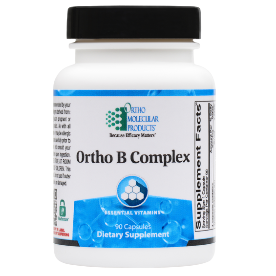 Ortho B Complex 90 Capsules Ortho Molecular Products