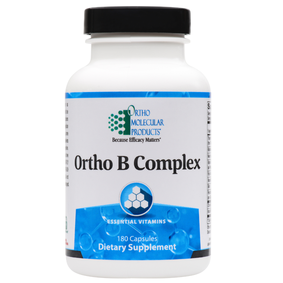 Ortho B Complex 180 Capsules Ortho Molecular Products