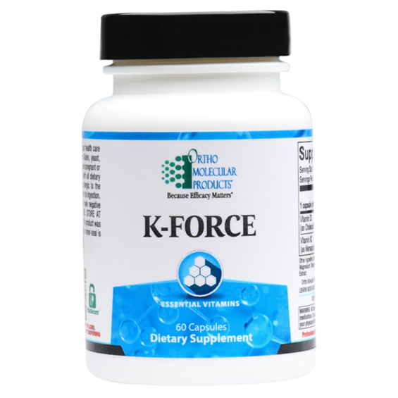 K-FORCE 60 Capsules Ortho Molecular Products