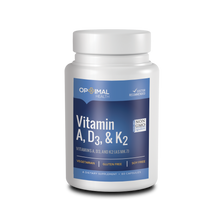 Load image into Gallery viewer, Vitamin A, D3, K2 | 60 Capsules | Optimal.Health