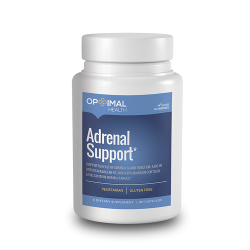 Adrenal Support - Natural Supplement for Optimal Adrenal Gland Function & Health