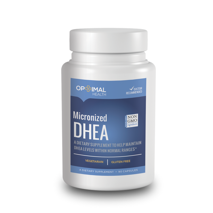 DHEA (25mg) - Natural Supplement To Help Maintain Optimal DHEA Levels