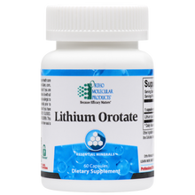 Load image into Gallery viewer, Lithium Orotate 60 Capsules Ortho Molecular Products