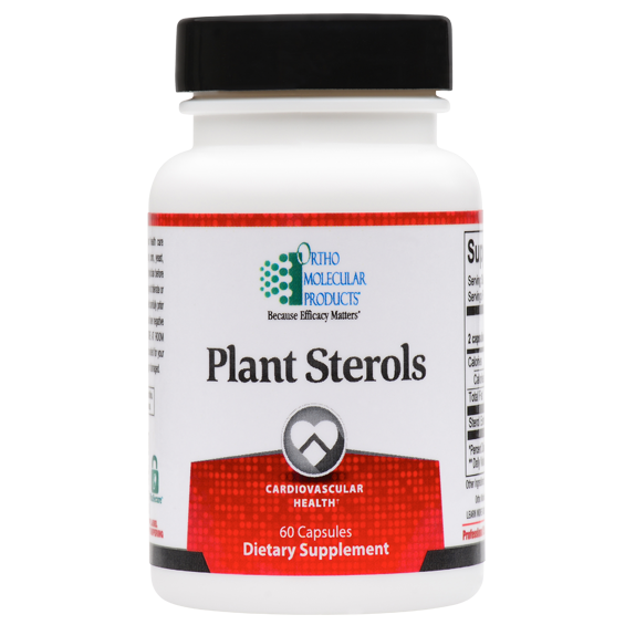 Plant Sterols 60 Capsules Ortho Molecular Products