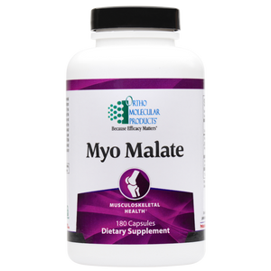 Myo Malate 180 Capsules Ortho Molecular Products