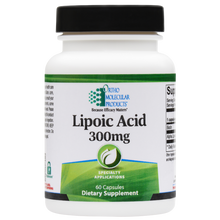Load image into Gallery viewer, LIPOIC ACID 300 MG 60 Capsules Ortho Molecular Products