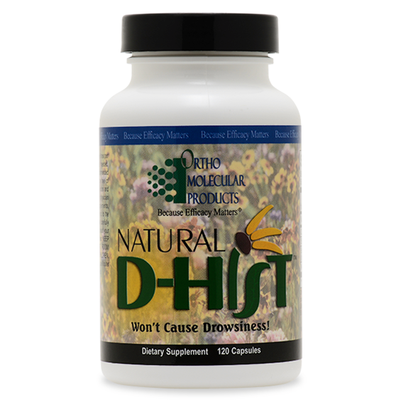 Natural D-Hist 40 Capsules Ortho Molecular Products