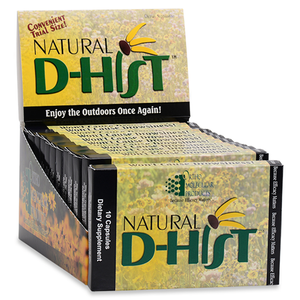 Natural D-Hist Blister Packs 10 Capsules Ortho Molecular Products