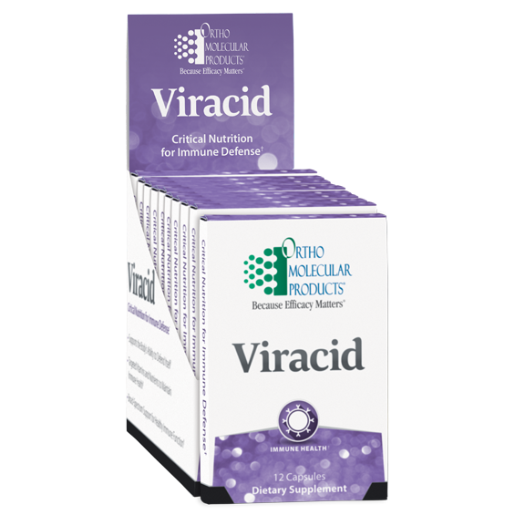 Viracid Blister 120 Capsules Ortho Molecular Products
