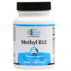 Methyl B12 60 Tablets Ortho Molecular Products