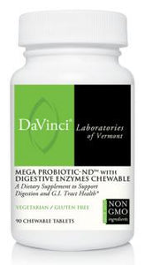 Mega Probiotic-ND™ w/Digestive Enzymes Chewable (90)
