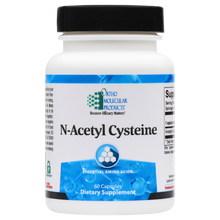 Load image into Gallery viewer, N-Acetyl Cysteine 60 Capsules Ortho Molecular Products